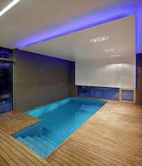 an indoor swimming pool in a home in zagreb croatia swimming