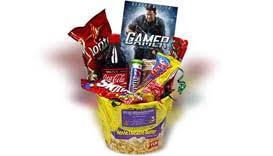 gamer gift basket get well soon dvd gifts gamer basket