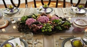 Dining Table With Food Homegoods Dining Table Setting