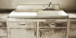 How To Stain Kitchen Cabinets by How To Fix Old Cabinets And Drawers