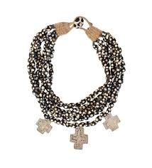 large black beaded necklace images Necklaces jpg