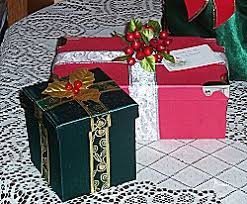 pre wrapped gift boxes christmas christmas wrap alternatives