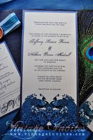 peacock wedding invitations vintage wedding vintage invites wedding invitations for