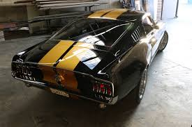 pictures of 1967 mustang fastback 39 chad chambers 1967 mustang fastback rear passenger view
