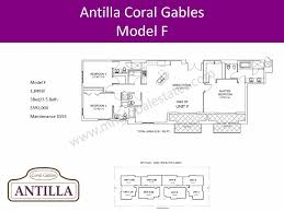 Antilla Floor Plan by Antilla Coral Gables Marika Hartman