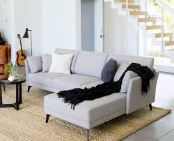 Modern Furniture Designs For Living Room Renata Chaise Sectional Scandinavian Designs Casa Youngblade