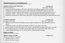 Bus Driver Resume Template Van Driver Resume Job Description Resume For A Driver