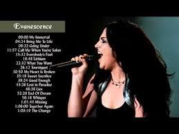 my immortal evanescence testo evanescence greatest hits album the best of evanescence