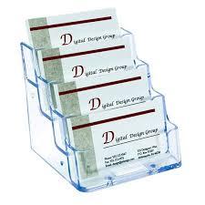 4 pocket business card holder desktop