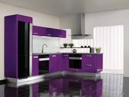 küche lila küche in einem minimalistischen stil minimalistisch küche