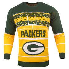 light up sweater s green bay packers green stadium light up sweater nflshop com