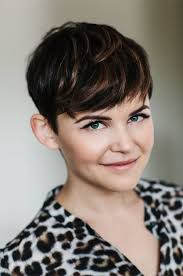 how to cut pixie cuts for thick hair obsessed with ginnifer s pixie cut pixie cut pinterest