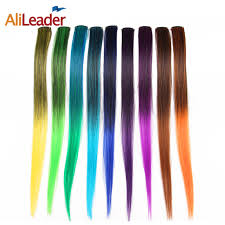 hair clip extensions alileader products one hair clip extension synthetic