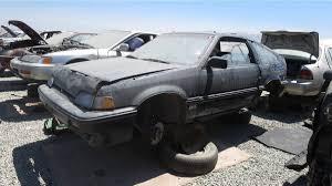 junkyard treasure 1987 honda civic crx si autoweek