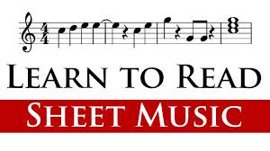 reading sheet music for beginners 1 4 youtube