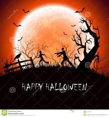 halloween background photos halloween background with zombie stock vector image 57377137