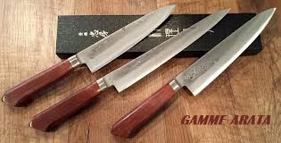 couteaux de cuisine japonais vente de couteaux de cuisine japonais tadafusa gamme arata