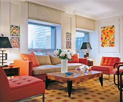 living room comfy colorful bright living room design with light