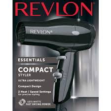 Compact Design Amazon Com Revlon 1875w Compact Travel Hair Dryer Beauty