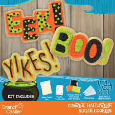 Sugar Cookie Halloween by Casper Halloween Sugar Cookie Kit Crafty Cooking Kits