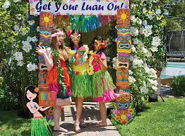 photo booth ideas luau photo booth ideas party city