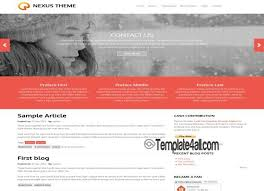 drupal themes jackson free abstract business blue jquery drupal theme
