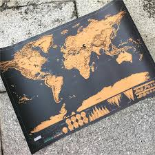 Scratch Off World Map Free Map For A Limited Time Only Globetrotter Scratch Off