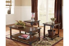 Ashley Furniture Living Room Tables Murphy Table Set Of 3 Ashley Furniture Homestore