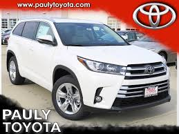 nissan pathfinder vs toyota highlander new 2017 toyota highlander limited 4d sport utility in crystal