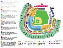 Citi Field Map Safeco Field Map Ada Information Marinerscom Ballpark