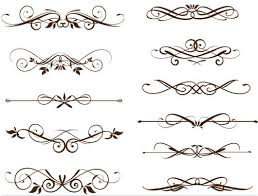 graphics for swirl ornaments vector free graphics www