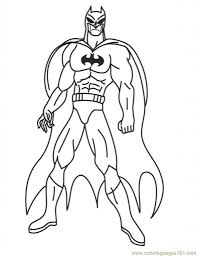 free coloring pages of superheroes to print super hero coloring