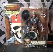 pirates of the caribbean captain barbossa series 1 neca curse of