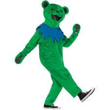 halloween dance costumes green grateful dead dance bear halloween costume walmart com