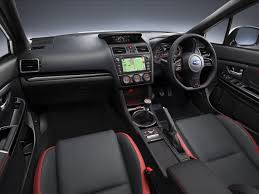 subaru wrx interior 2016 wrx sti subaru of new zealand