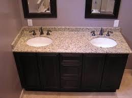 Double Bathroom Vanity Tops by Bathroom Cabinet Granite Bathroom Vanity Tops With Sink Overview