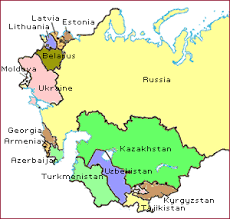 former soviet union map other former soviet union countries f s u global food