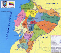 Map Centro America by Ecuador The Middle Of The World Ecuador South America And