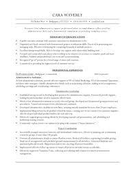 Executive Administrative Assistant Resume Samples by Executive Level Administrative Assistant Resume Example Vinodomia