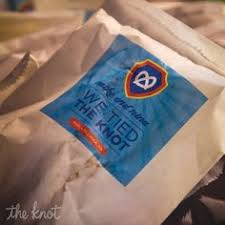 Pretzel Bags For Favors So Cute For A Philly Wedding Pretzel Favor Snack Bag By Bird