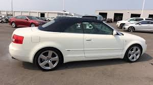 white audi a4 convertible for sale audi a4 1 8 t cabriolet for sale used cars on buysellsearch