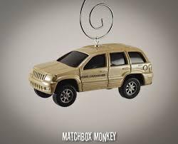 matchbox jeep grand cherokee rare custom 99 jeep grand cherokee christmas ornament 1 64 adorno