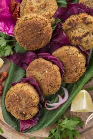 cuisine vegan facile gluten free vegan baked falafel with sun dried tomatoes
