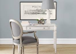 Ethan Allen Home Office Desks Emily Desk Water 605 Large Gray Patty