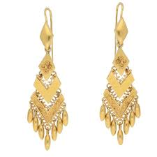 drop earrings gold yellow gold etruscan drop earrings for sale at 1stdibs
