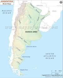 parana river map rivers in