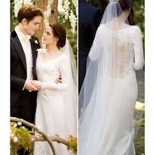 twilight wedding dress kristen stewart wedding dress in twilight breaking