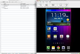 mirroring android ui for screencasts and demos