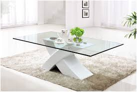coffee table beautiful white glass coffee table design ideas