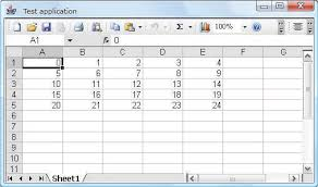 Applications Of Spreadsheet Jexcel Use Microsoft Excel In Your Java App